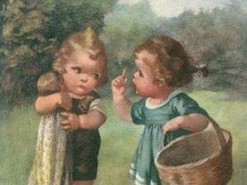 říkala jsem ti že najdem houby - říkala jsem ti že najdem houby. Ein kleiner Junge, der im Gras steht.