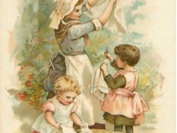 mamince se musí pomáhat - mamince se musí pomáhat. Une personne tenant un bébé.