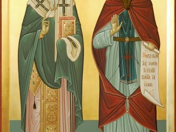 Saints Cyril and Methodius - The luminaries of the Slavs.