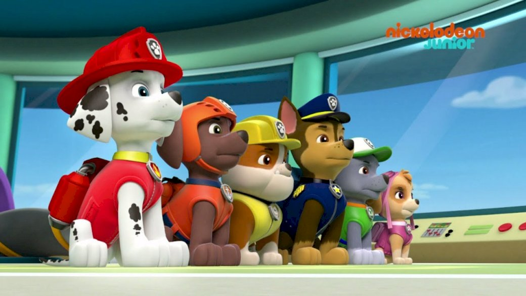Lea puzzle to work the f - Paw Patrol for oral language (4×4)