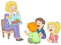 професия - учител - запознаване с избрани професии.