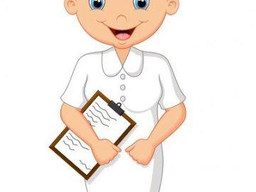 zawód - pielęgniarka - poznajemy wybrane zawody. A bliska zabawki.