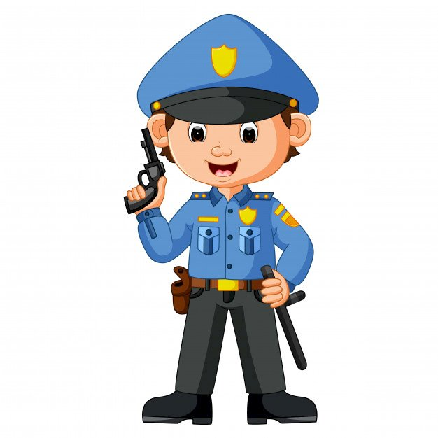 ZAWÓD - POLICJANT - Ułóż Puzzle Online za darmo na Puzzle Factory