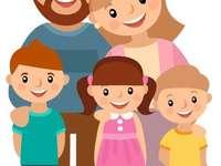Puzzle de La Famille - ekabek