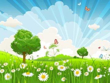 PRINTEMP - Puzzle tematyczne Primtemp dla dzieci. Zamknięty kwiat.