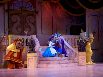 fairytales for children - beauty and the beast, Andersen, fairy tale, children, photo.