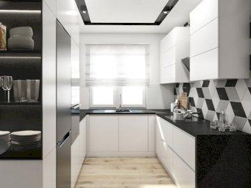 Jyjyhi кухня - . Стая с бели стени.