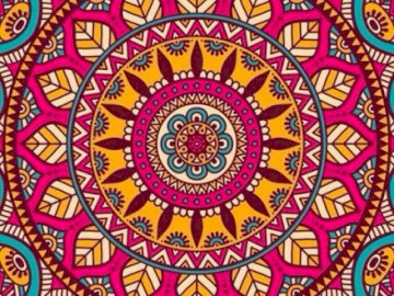 Colorful mandala - .