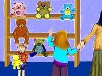 Urso de pelúcia - quebra-cabeça