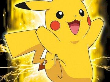 Pikachu lächelt - .