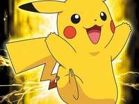 Pikachu χαμογελά
