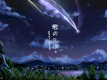 Your Name puzzle - . .