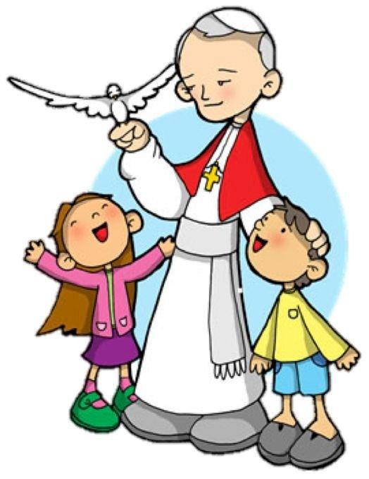 Święty Jan Paweł II - Gdzie jest skarb? Śladami Jana Pawła II. . Rysunek postaci z kreskówek. Gdzie jest skarb? Śladami Jana Pawła II. Rysunek postaci z kreskówek (4×4)