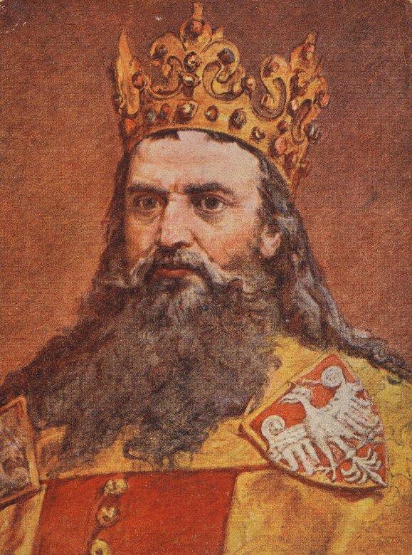 Koning Casimir de Grote -  (4×5)