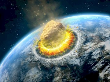 Asteroid strike - end of the world and beyond.