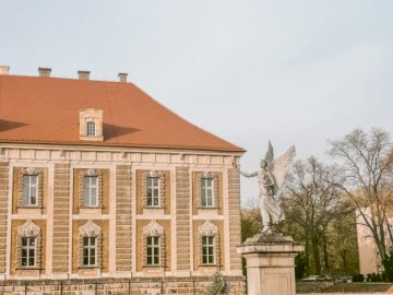 Prince's Palace in Żagań - Rich history and great architecture are the Prince's Palace in Żagań and a Nike monument.