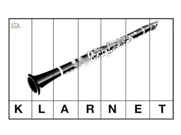 clarinet instrument - clarinet musical instrument. A close up of a device.