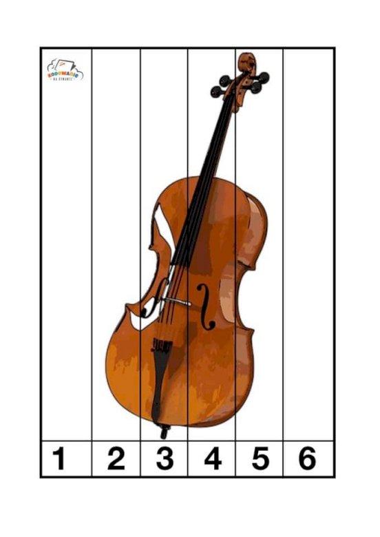 wiolonczela - wiolonczela instrument muzyczny. Zbliżenie na skrzypce (5×4)