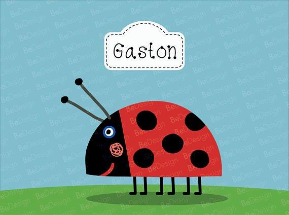 Gastón, slunéčko sedmitečné.