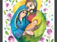 Ιερή οικογένεια των ναζωραίων παζλ
