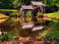 pond_geese_lodges_mill