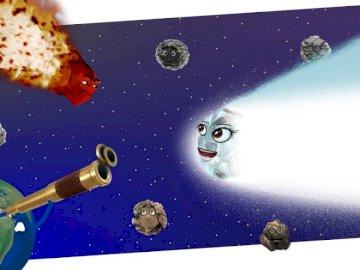 Układ Słoneczny - Układ Słoneczny - puzzle dla dla uczniów klas młodszych.