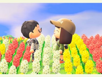 Animal crossing - Animal crossing - tulips.