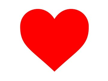 Herz für Babys - mache ein Herz aus 9 Elementen. Eine Nahaufnahme eines Logos.