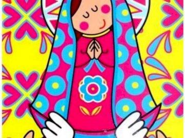 Madre de Dios - May puzzle para niños 2 - Madre de Dios: rompecabezas de mayo para niños de 5 a 7 años.