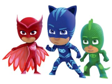 PJMASK PUZZLE - PJMASKS HEROES When midnight strikes, the Pajamasques put on their super heroes' suits for e