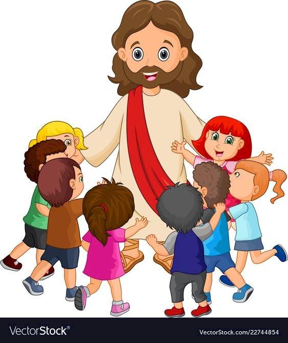 Hospodin Ježíš miluje děti - JEŽÍŠ. PAN JEŽÍŠ A DĚTI. Hospodin Ježíš miluje děti. JEŽÍŠ. PUZZLE PRO DĚTI. PAN JEŽÍŠ A DĚTI. PUZZLE PRO DĚTI (2×2)