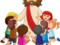 DOMNUL ISUS IUBEȘTE COPII