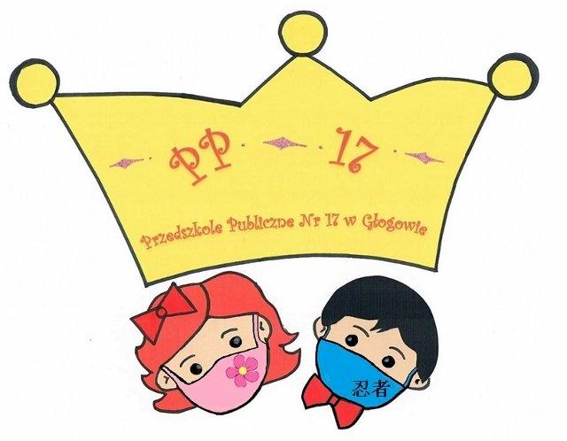 Logo Przedszkola Publicznego nr 17 w Głogowie - Ułóż logo swojego przedszkola (3×3)