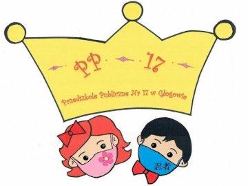 Logo of Public Kindergarten No. 17 in Głogów - Arrange your kindergarten logo.