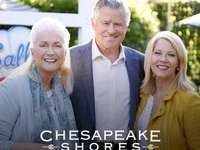 Megan Mick - Megan Mick Cheesies chesapeake Shores netflix. Diane Ladd, Treat Williams, Barbara Niven posando par