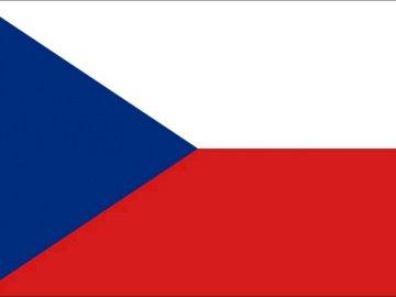 Czech Republic flag - Flag of the Czech Republic, state symbol of the Czech Republic.