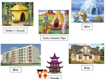 Maisons du monde - Organisez les puzzles montrant les maisons d'enfants du monde entier.
