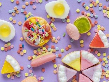 Fruit jelly beans - Jelly beans love children.