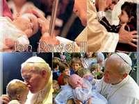 Jan Paweł II z dziećmi