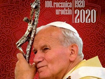 Pope John Paul II - 100th anniversary of JPII's birth.