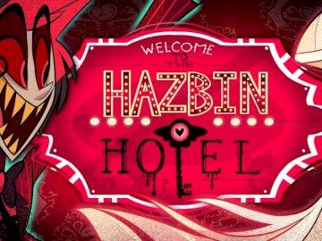 Hazbin Hotel - Puzzle de l'hôtel Hazbin. Graffiti sur un mur.
