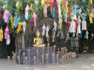 Buddha in Chiang Mai - Buddha in Chiang Mai Thailand.  ein Buddha in Chiang Mai.  ein Buddha in Chiang Mai