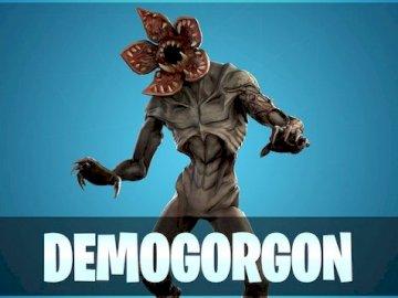 Demogorgon - here's a skin from Fortnite DemoGorgon.