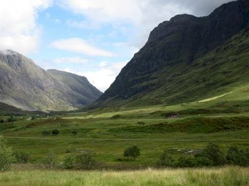 Scotland, Glen Coe - Scotland, Glen Coe Valley ..........
