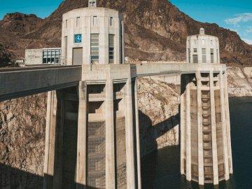 Barrage Hoover / Centrale électrique,