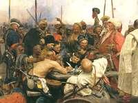Η απάντηση των Ζαποροζιανών Κοζάκων στον Σουλτάνο