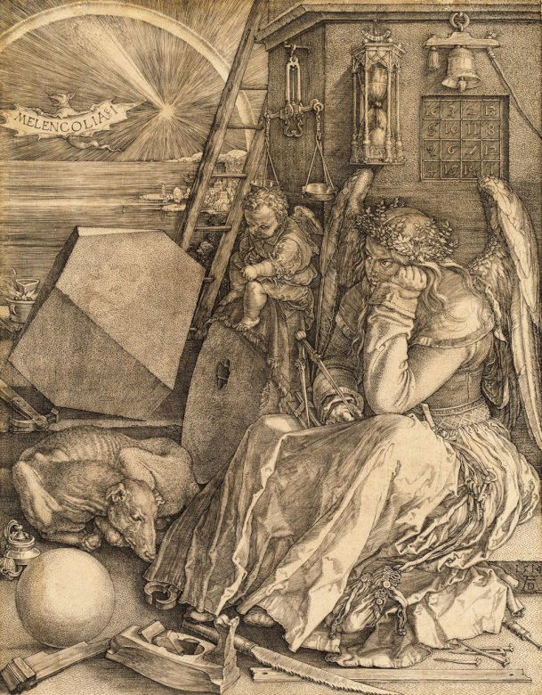 Melencolia I - Melencolia I από τον Albrecht Dürer (1514) (15×15)