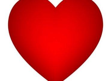 corazón para un ser querido - rompecabezas del corazón para sorprender a tu pareja.