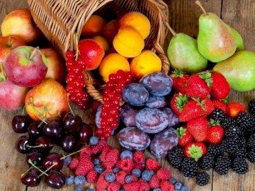 Sănătatea din fructe - Sănătatea din fructe. Un grupo de frutas y verduras.