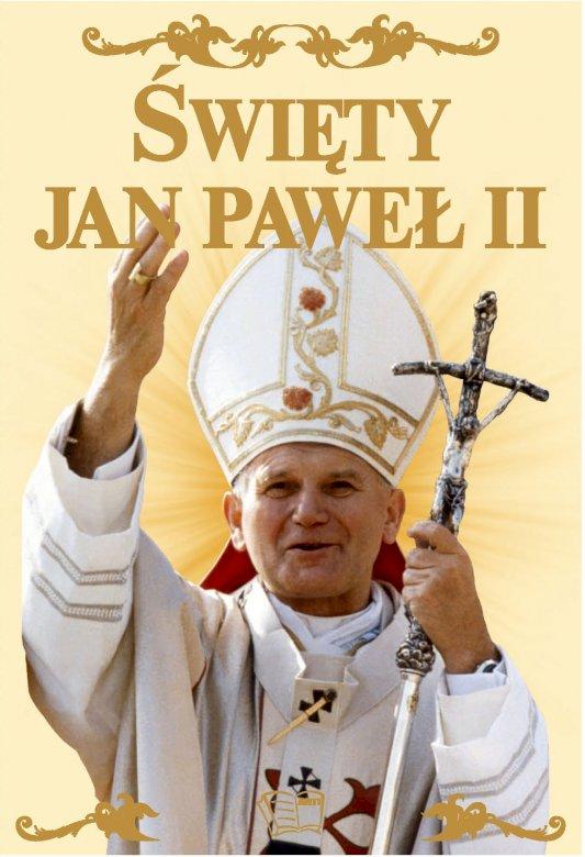 Papa Ioan Paul al II-lea - Ioan Paul al II-lea, papa polonez. Papa Ioan Paul al II-lea care ține un semn (6×6)